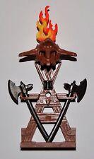 66755 Mueble soporte armas 2 hachas y fuego playmobil