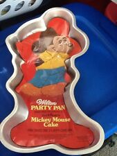 Vintage Wilton Mickey Mouse Cake Pan With Insert 515-1805 1970s