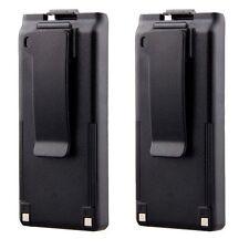 2Pcs 1050mAh BP-195 BP-196H BP-196R Battery For ICOM IC-A4C IC-F3S IC-F4N IC-40S