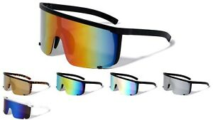 Oversized XXL Shield Sunglasses Outdoor Cycling Goggles Mens Women Sport Glasses