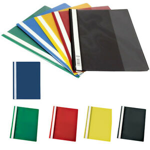 Report Files A4 Project Files Folders 2 Prong Clear front