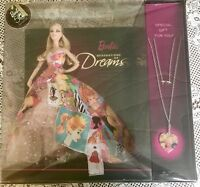 Barbie: GENERATION OF DREAMS Doll and NECKLACE 50TH ANNIVERSARY 2008 #P7940 NRFB