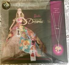 GENERATION OF DREAMS Barbie Doll and NECKLACE 50th Anniversary 2008 #P7940 NRFB