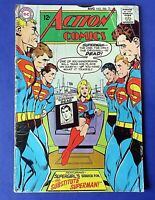 ACTION COMICS #366 COMIC BOOK With Superman & Supergirl 1968 DC SILVER AGE ~ VG