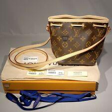 Louis Vuitton Bag Nano Noe Shoulder Monogram M41346