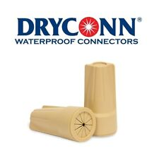 DryConn 20122 50 Pack Tan Waterproof Connector Petroleum Filled King Innovation