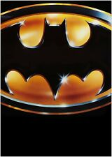 Traditional Batman Logo Poster Spotlight Bat Signal 22 x 34 inches 1989