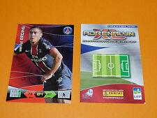 M. ERDING PARIS SAINT-GERMAIN PSG  FOOTBALL FOOT ADRENALYN CARD PANINI 2010-2011