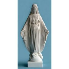 Statue Sainte Vierge Marie miraculeuse rue du bac albatre 17 CM cadeau communion