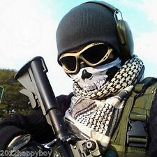 Skull Face Mask Motorcycle & BMX Bike Scarf Snood Neck Mask Multi Bandana