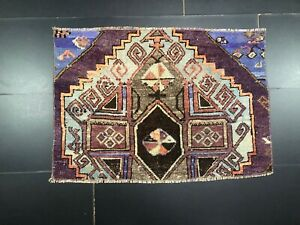 Vintage Door Mat, Turkish Rug, Oushak Rug, Ethnic rug, Decorative Small Rug, 996