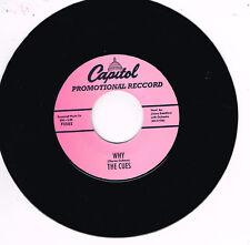 THE CUES - WHY / KILLER DILLER - (2 x 1950s DOO-WOP JIVERS (listen) rockabilly