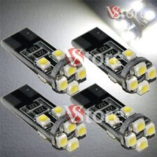 4 Lampade Led T10 Canbus 8 SMD 3528 No Errore Luci BIANCO Xenon Lampadine