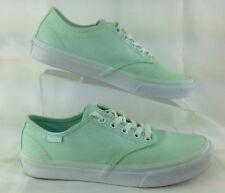 VANS Canvas Turquoise Aqua Tennis Fashion Sneakers Shoes 721356 US Women's Sz 8