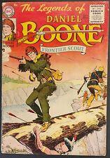 LEGENDS OF DANIEL BOONE 1955 1 THRU 8 SCARCE SET,MISSING 4 NICE TOUGH TO FIND!