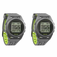Bushnell Golf Neo Ion Wireless Rechargeable GPS Rangefinder Watch, Green(2 Pack)