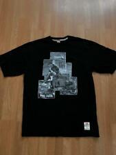 Vintage 1990s Ecko Unltd. Mens Black T Shirt Size Med Cotton Hip Hop Rap Rhino