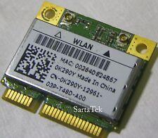 Dell Wireless K290Y 802.11B/G/N AR5B95 AR9285 PCIe Half