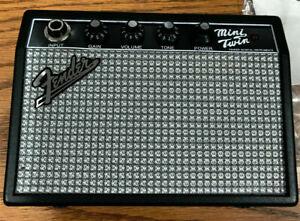 FENDER MINI TWIN PORTABLE GUITAR AMPLIFIER 65 TWIN SILVER FACE MT-10 NEW IN BOX!