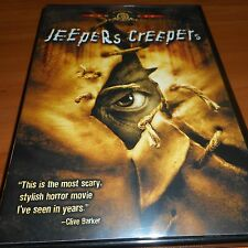 Jeepers Creepers (DVD, Widescreen/Full Frame 2002) Justin Long Used Gina Philips