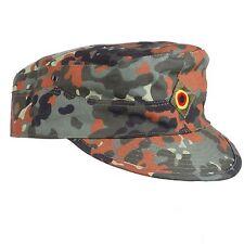 WW2 GERMAN ARMY FLECKTARN CAMO MILITARY CAMOUFLAGE FIELD CAP HAT