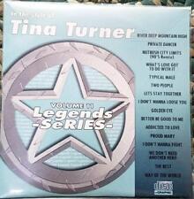 LEGENDS KARAOKE CDG TINA TURNER OLDIES SOUL R&B #11 16 SONGS CD+G PRIVATE DANCER
