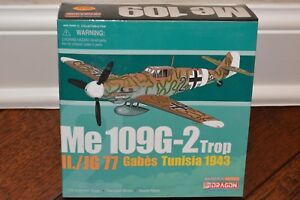 Dragon Wings Cyber Hobby Special Version 1:72 Me 109G-2 Trop Tunisia, NEW