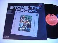 Stone the Crows Transparency Processed 1976 Stereo Import LP VG++