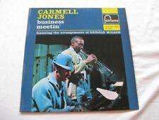 CARMELL JONES Business Meetin' L.P. FONTANA 688 125 ZL 1962