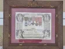 Bel ensemble décorations 14/18 dont médaille de Crimée
