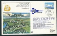 74575) comm.cover Jersey 1.12.79 flown by BA Concorde and....to New York