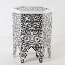 Marocain table oriental Table d'appoint Arabique Plateau à thé Zafer NEUF