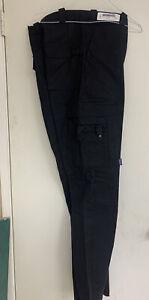 PRO-TUFF BLACK Size 35 CARGO PANTS EMT, SECURITY Pants NEW CLOSEOUTS