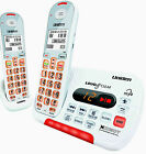 UNIDEN SSE35+1 VISUAL & HEARING IMPAIRED CORDLESS PHONE SYSTEM HEARING AID COMP