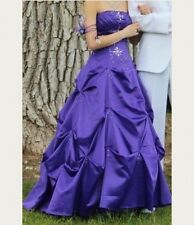 Purple Ball Gown/Prom Dress Size 3 Corset backed