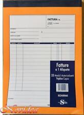 Semper Fatture Professionisti formato 15x21 50 moduli a 2 copie