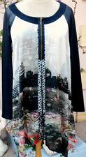 robe * la mode est à vous *  taille 46 48 50 modele excentrique noir M/lo neuf