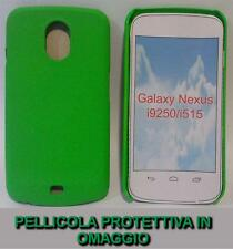 Pellicola + custodia BACK DREAM MESH VERDE per Samsung Galaxy Nexus I9250 (H5)
