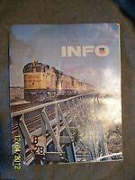 Union Pacific Railroad Employees INFO Magazine 8/1971