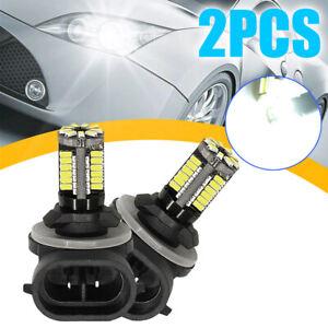 Hot 881 LED Replacement 12V Bright White Car Fog Light Bulbs 862/886/889/894/896