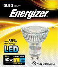 ENERGIZER GLASS HIGHTECH LED GU10 5W=50W SPOTLIGHT LIGHT LAMP BULB COOL WHITE
