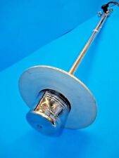 "VINTAGE BOAT LIGHT ALL AROUND w/ GLARE SHIELD # 1192 ADJUSTABLE 24"" POLE & BASE"