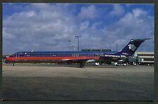 Dated 1989 - Aeromexico Douglas MD-88 Aircraft at Miami