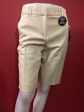 COUNTERPARTS Women's Beige Slimming Sensations Shorts - Size 6P - NWT
