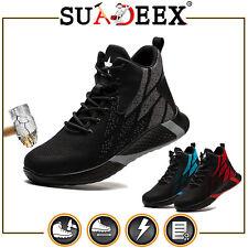 SUADEEX Arbeitsschuhe Sicherheitsschuhe Sneaker Unisex S3 Stahlkappe rutschfest