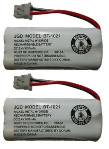 Uniden BT-1021 BT1021 High Capacity Replacement Cordless Phone Battery (2-Pack)
