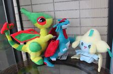 Pokemon Flygon 17'' And 12'' Salamence 8'' Jirachi Stuffed Animal Plush Toy Gift