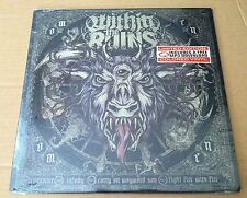 WITHIN THE RUINS Omen 1000 Made ETCHED & COLORED LP Vinyl SEALED 2011 USA Seller