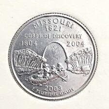 US State Commemorative Quarter Dollar Series, 2003-P Missouri 1821, Ex-Fine RARE