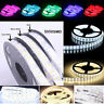 5M 16.4ft Double Row 3528 5050 SMD 600 RGB White Flex LED Strip light 120led/M